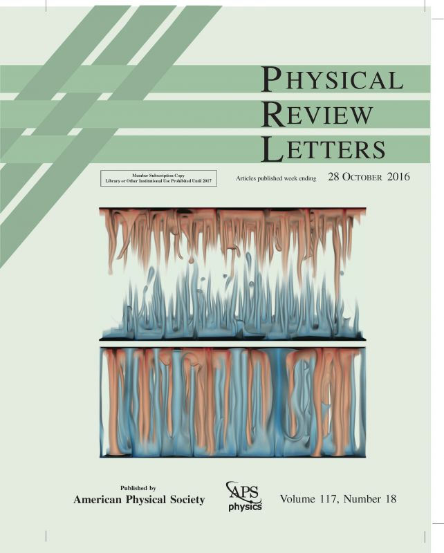 PRL Volume 117, Issue 18